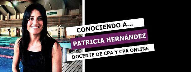 Conociendo a Patricia Hernández profesora de deportes